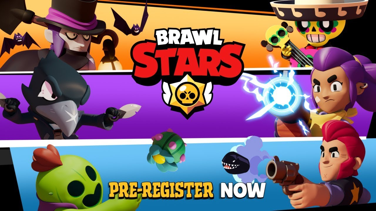 Brawl Stars Pre Register Now Youtube