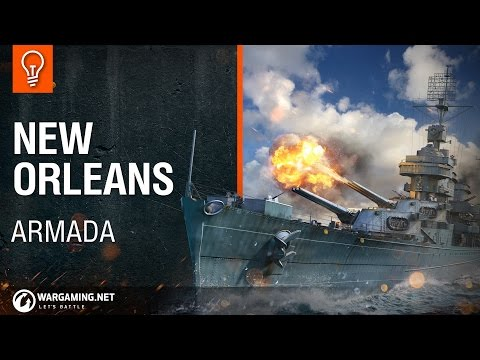 World of Warships - Armada: USS New Orleans