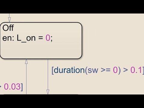 Temporal Logic Operators - Stateflow Video