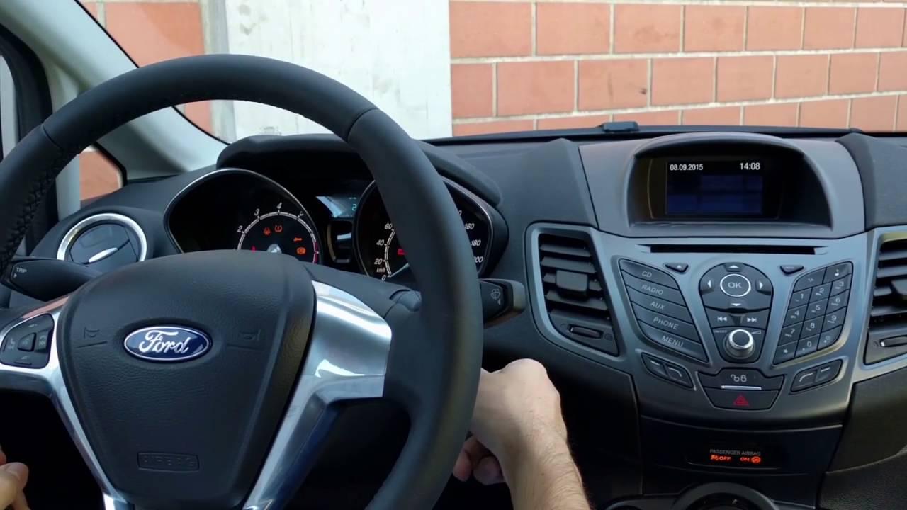 2016 Ford Transit >> Nuova Ford Fiesta: come effettuare il reset della spia ...