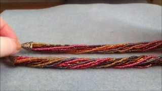 ~Tutorial: Make a seedbead necklace (or bracelet)~