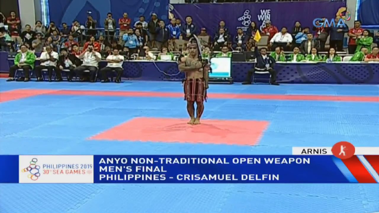 Sea Games 2019 Phl In Men S Non Traditional Open Weapon