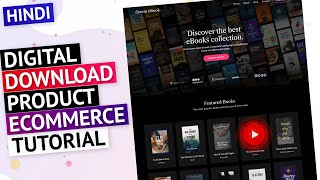 HINDI  Create a Digital Downloadable Products Selling eCommerce Website with WordPress in 2021