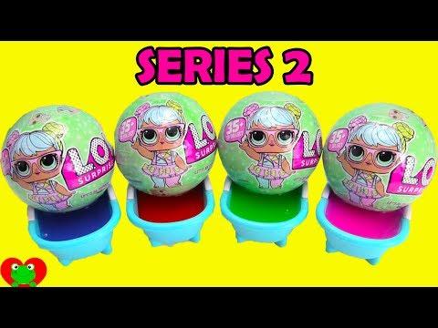 LOL Surprise Series 2 Lil Sisters Doll Slime Bath Surprises