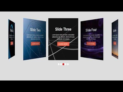 Swiper Slider Tutorial - Part Fifteen | Swiper Slider 3D-Coverflow Effect | Quick Implementation