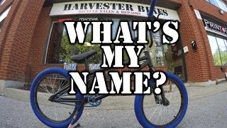 Whats My Name? Name This Custom BMX Contest @ Harvester Bikes