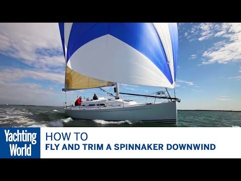 How to fly and trim a spinnaker downwind, with Brian Thompson & Pip Hare  Yachting World