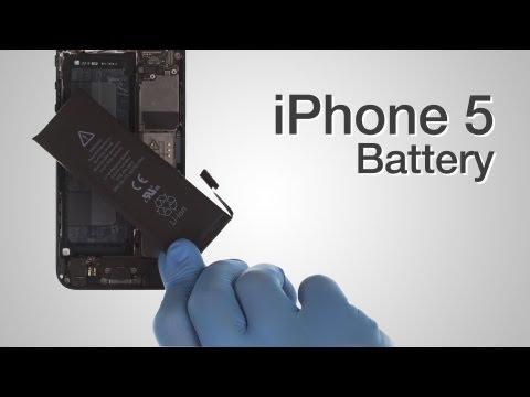 Battery Repair - IPhone 5 How To Tutorial