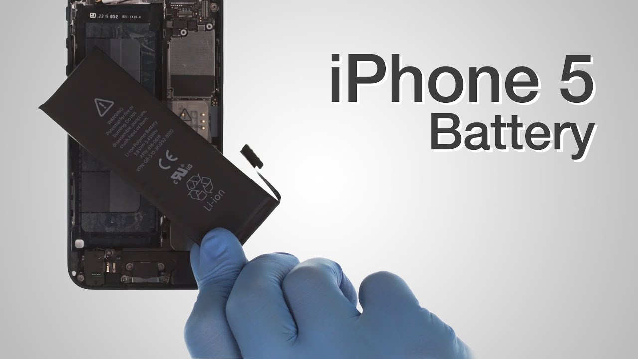battery for iphone 5 battery repair iphone 5 how to tutorial 2782