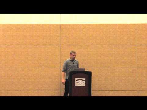Wes McKinney at ODSC Boston 2015 - DataFrames: The Extended Cut