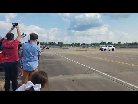 Donald Trump Arrives In Lake Charles, Louisiana!!!