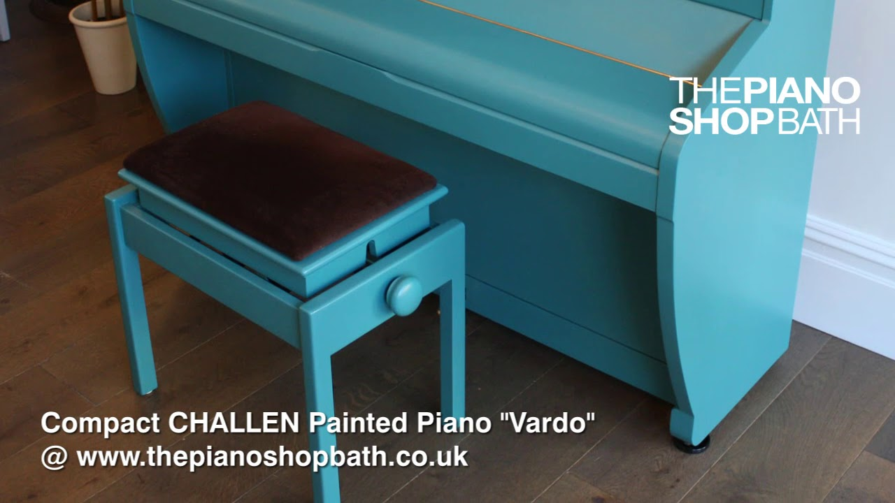 Vardo Farrow And Ball Challen Painted Piano In Farrow And Ball