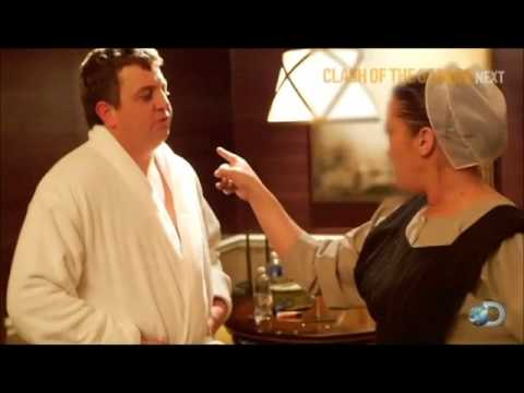Esther finds Levi in hotel room (Amish Mafia)