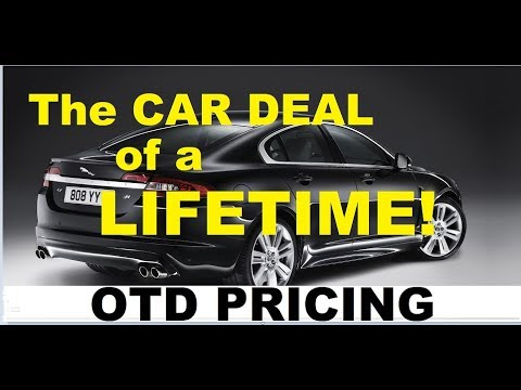 MAKE AUTO DEALERS WORK FOR YOU - Get the Car Deal of a LIFET