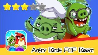 Angry Birds POP! Blast 6-9 Walkthrough Bubble Shooter Match 3 Puzzle! Recommend index three stars