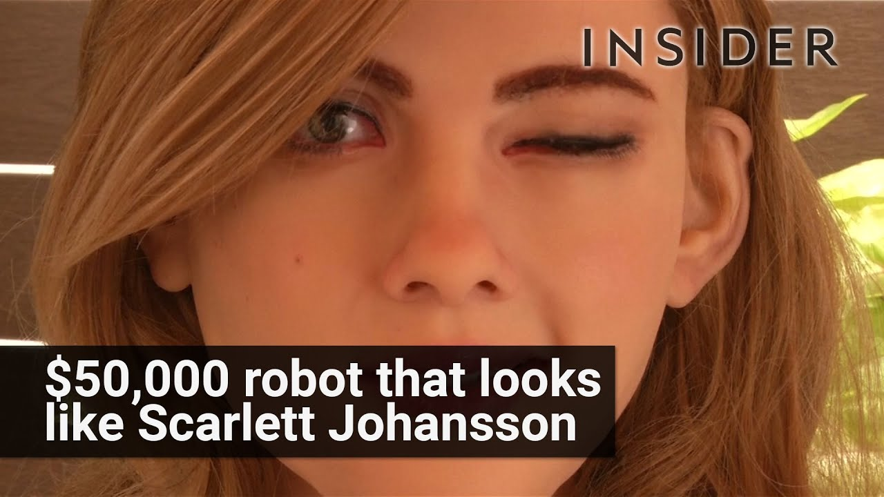 $50,000 robot that looks like Scarlett Johnansson
