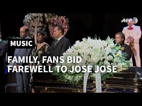 Mexican singer Jose Jose's public funeral underway in Miami | AFP