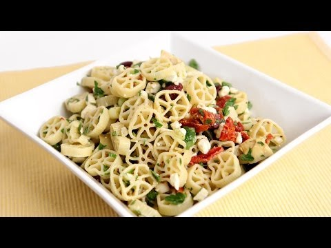 Mediterranean Pasta Salad Recipe - Laura Vitale - Laura in the Kitchen Episode 788