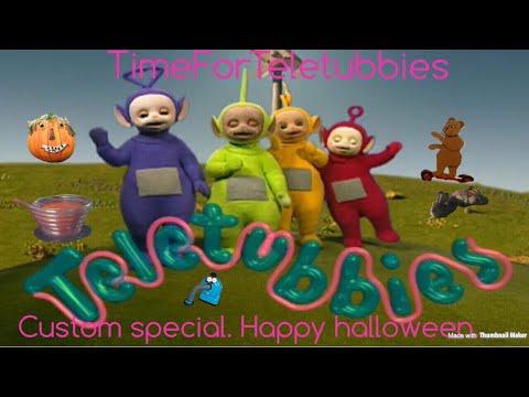 Teletubbies. Custom Special: Happy Halloween.