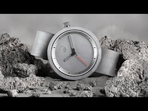 The Masonic Watch: a uniquely designed concrete timepiece
