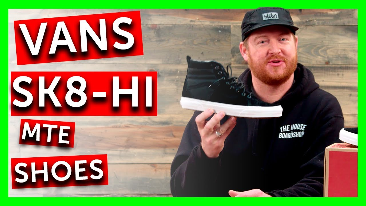 2018 Vans Sk8-Hi MTE Shoes - Review - TheHouse.com