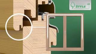 Sokółka Okna i Drzwi - okna drewniane linii STYLE68