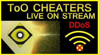 Destiny Trials DDoS Cheaters on Live Stream!