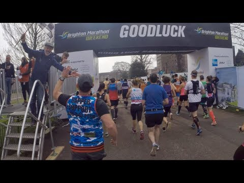 Brighton Marathon 2018 (run to the Sea)