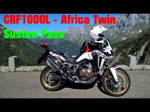 CRF1000L Africa Twin, Susten Pass Alps, and an idiot rambling.