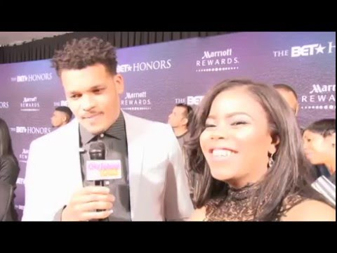 Is Christon Grey Crushing On Jessica Reedy?  2016 BET HONORS