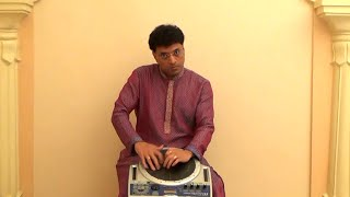 Indian Percussion 1 of 7: Tabla Performance on Handsonic