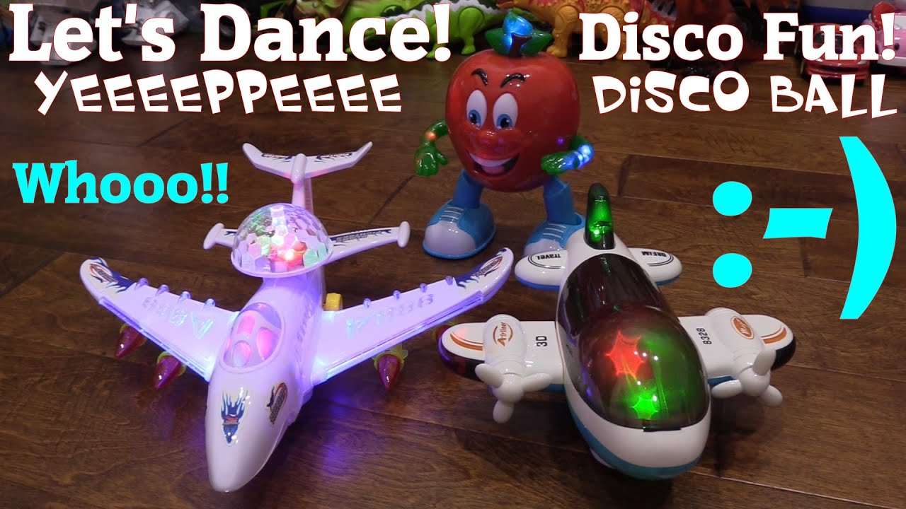 Cute Toys for Kids Battery Operated Airplane Toys with Lights and