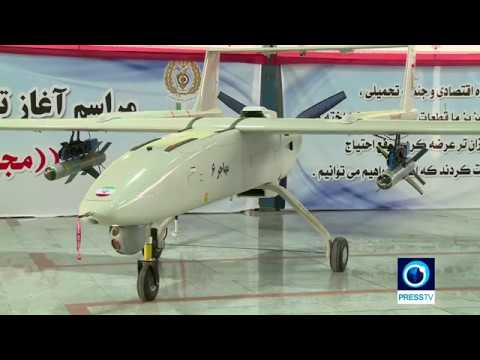 Iran Starts production of Mohajer 6 drone armed with Qaem precision guided bomb مهاجر شش بمب قائم