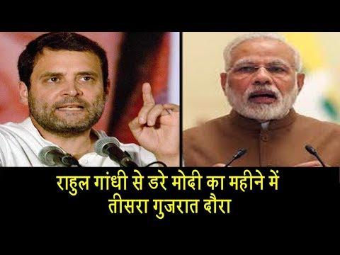 राहुल गांधी से क्यों डरे हुए हैं मोदी? |Rahul Gandhi vs Modi in Gujarat| Dalit Dastak