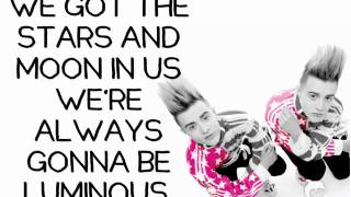 Jedward - Luminous (Lyrics)