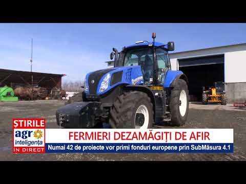 AFIR: Numai 42 De Proiecte Primesc Fonduri UE Pentru Investiții Agricole