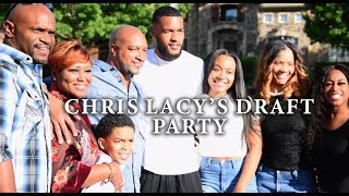 Chris Lacy's NFL Draft Party