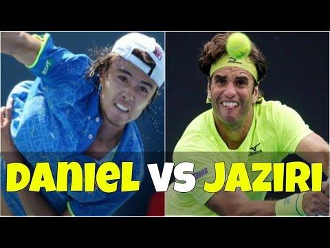 Taro Daniel vs Malek Jaziri   FINAL Istanbul 2018 Highlights