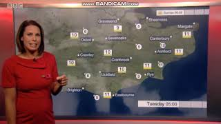 Nina Ridge weather presenter South East Today