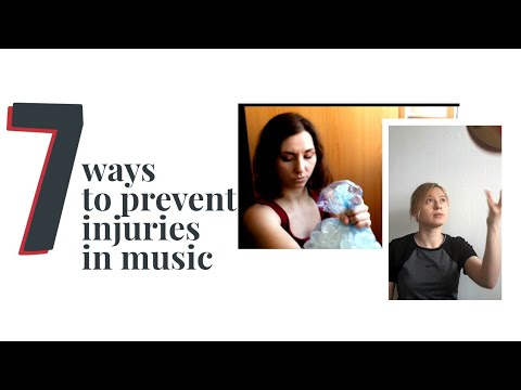 7 ways to prevent injuries in music