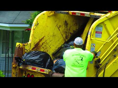 Garbage Truck Packing 6-18-2018