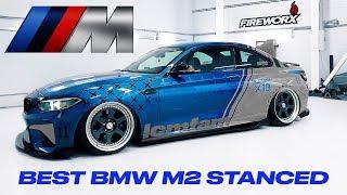 Самая кислотная BMW M2 во вселенной. ФИНАЛ СБОРКИ ПРОЕКТА | LCM