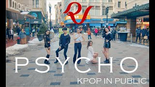 [KPOP IN PUBLIC - SNOW VER] Red Velvet 레드벨벳 - 'Psycho' MV | Full Dance Cover by HUSH
