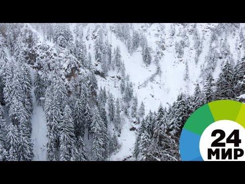 Перевал Варденяц в Армении закрыли из-за сильной метели - МИР 24