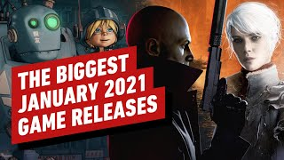 The Biggest Game Releases January 2021