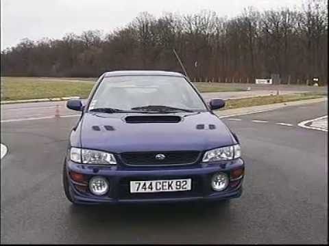 subaru impreza gt test essai reportage fr 2000 youtube. Black Bedroom Furniture Sets. Home Design Ideas