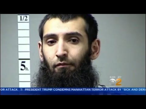 Lower Manhattan Terror Attack Suspect Latest