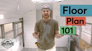 How To Create The Floor Plan For Your Skoolie | School Bus Conversion