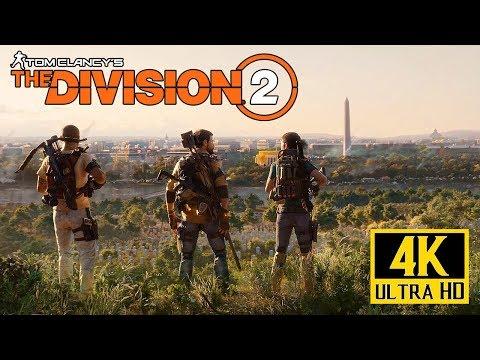 [4K] THE DIVISION 2 - E3 2018 Cinematic Trailer @ 2160p UHD ✔