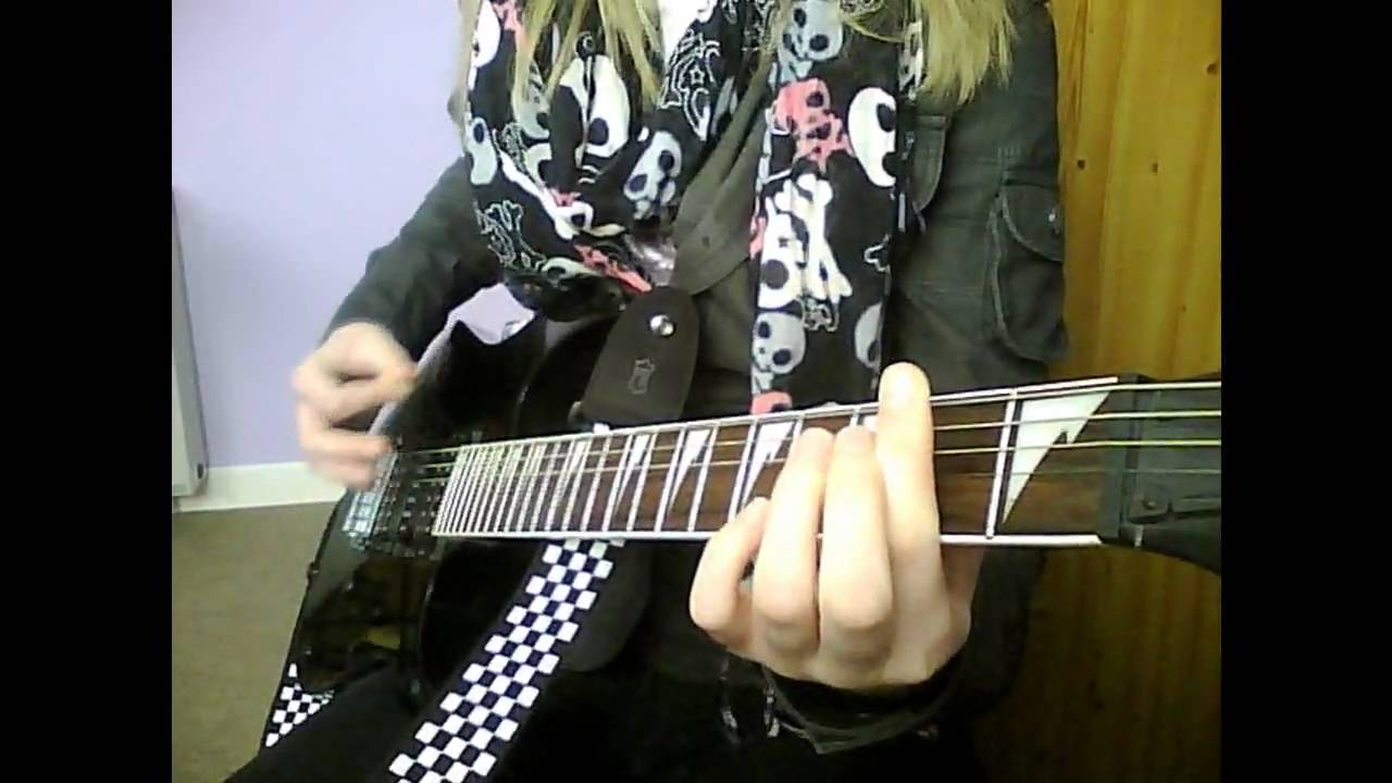 Call Me When Youre Sober Evanescence Guitar Cover Youtube